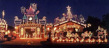 Deze winter eens geen kerstverlichting energie verbruik energie verbruik - De gevels van de huizen ...